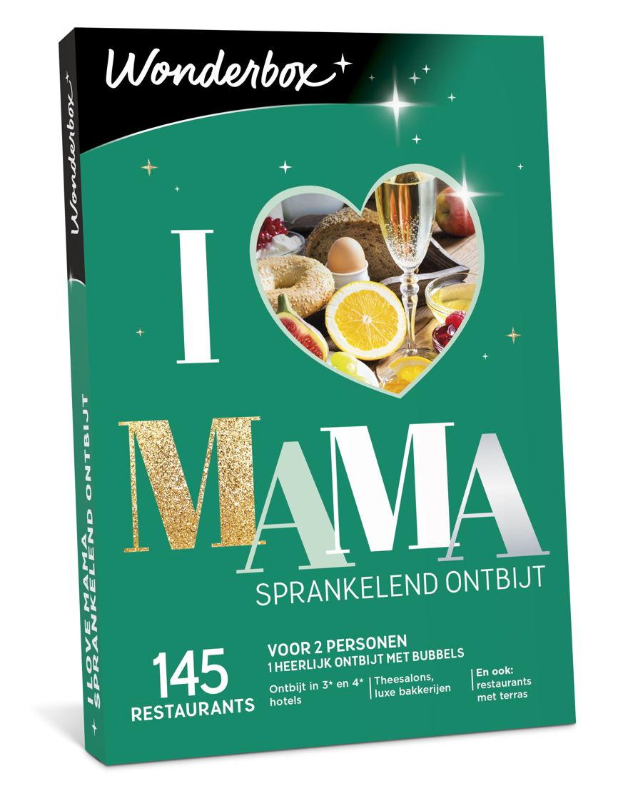 """Wonderbox """"I Love Mama Sprankelend Ontbijt"""": €34,90"""
