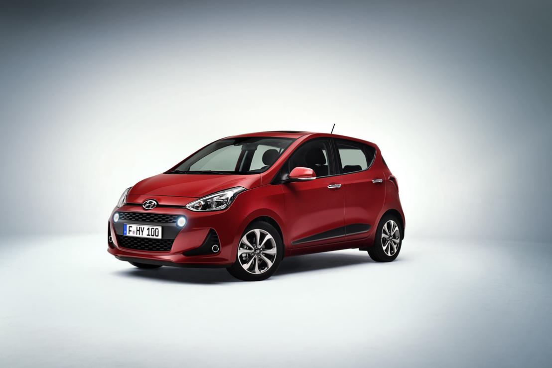 Marktstart für den New Hyundai i10: mehr Styling, mehr Sicherheit und mehr Technologie