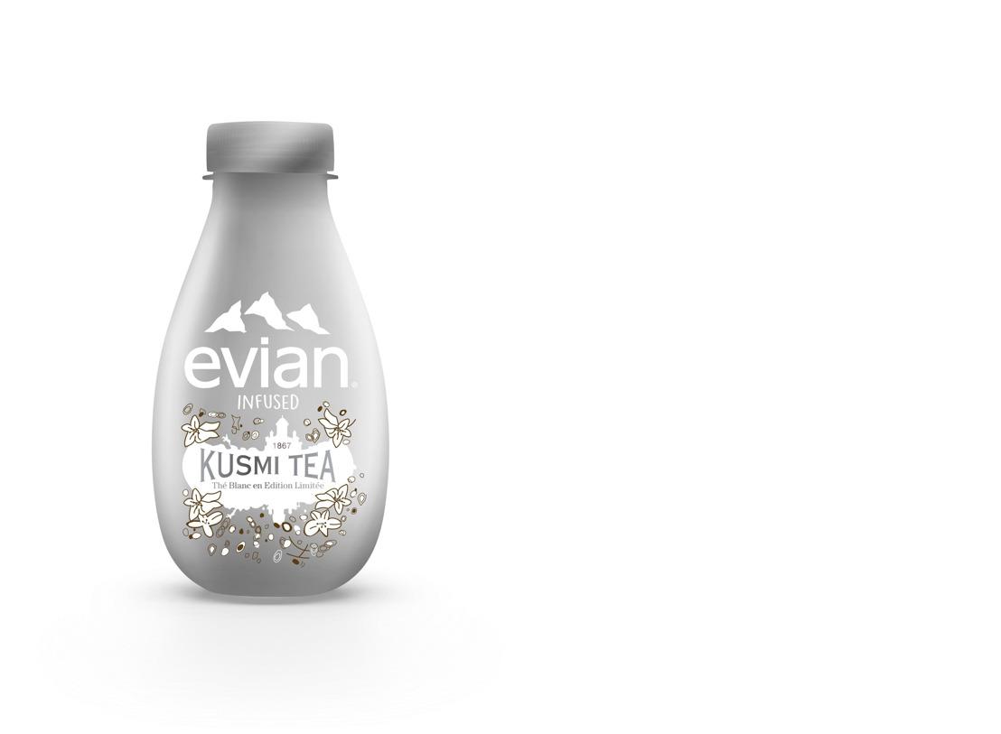 evian® en Kusmi Tea® stellen de Belgen een nieuw winters drankje voor