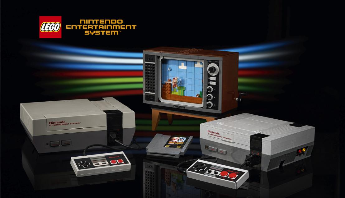 Persbericht: The LEGO Group introduceert LEGO® editie van klassieke Nintendo Entertainment System™