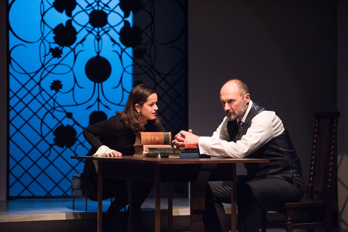 Anie Richer and Oliver Becker in The Last Wife by Kate Hennig / Photos by Emily Cooper