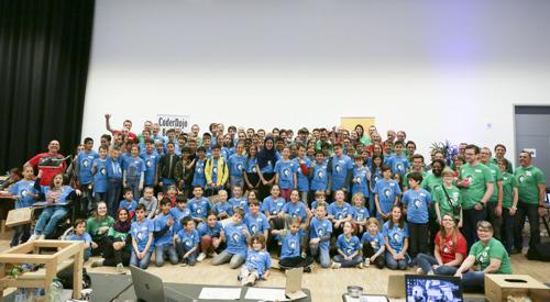 4de editie van Coolest Projects Belgium trekt meer dan 100 jonge uitvinders