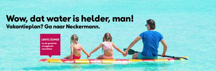 Neckermann en FamousGrey zorgen voor jouw vakantieplan