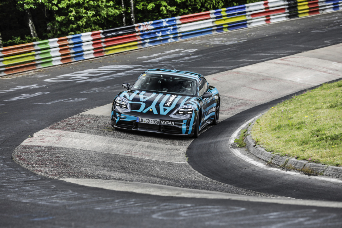 Record time on the world's most challenging race track