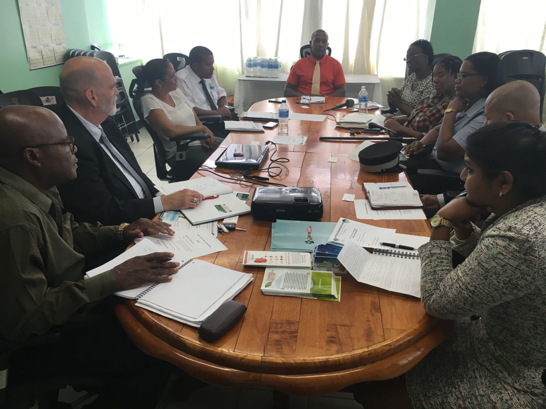 Meeting to discuss the Don't Pack a Pest Outreach Programme with key stakeholders in Saint Lucia including: Saint Lucia Air and Sea Ports Authority, Ministry of Agriculture, Customs, Ministry of Health, Ministry of Trade and Environment, Ministry of Tourism