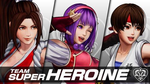 The King of Fighters XV : Athena Asamiya rejoint la Team Super Heroine
