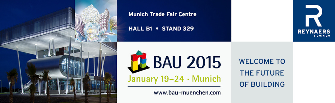 REYNAERS TO DEMONSTRATE NEW LEVELS OF DESIGN FREEDOM AT BAU 2015