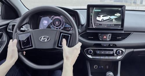 Hyundai dévoile une étude de son cockpit virtuel