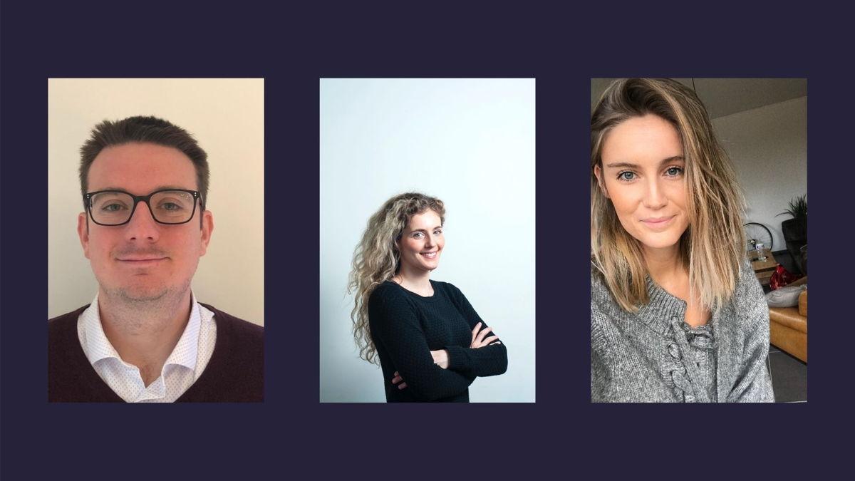 Pieter Deraeck, Aline Huls en Margo Hemeleers