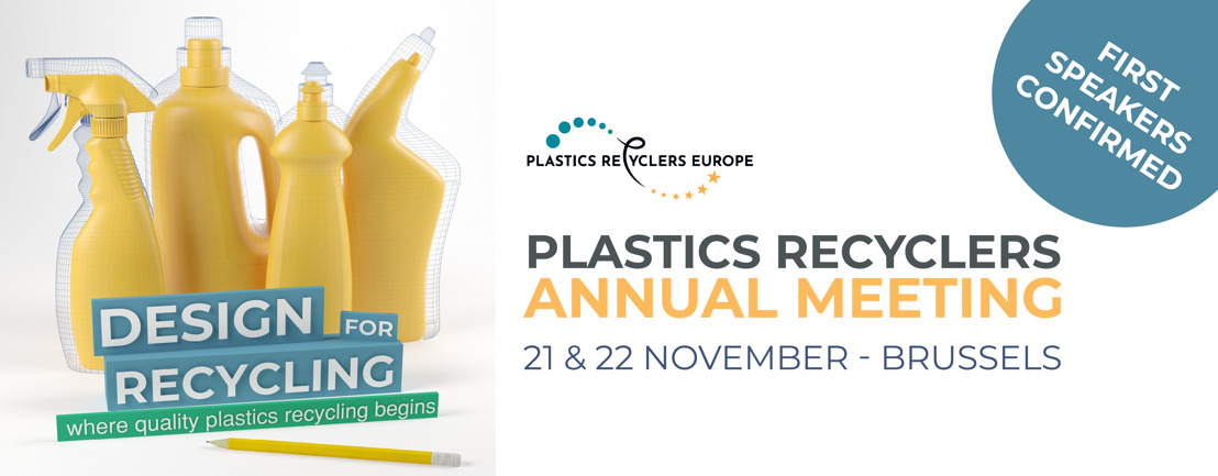 First speakers confirmed for Plastics Recyclers Annual Meeting 2019!