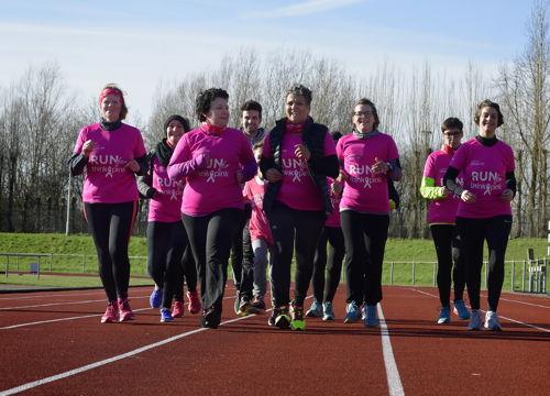Preview: Borstkankerpatiënten aan de start van AG Antwerp 10 Miles & Marathon