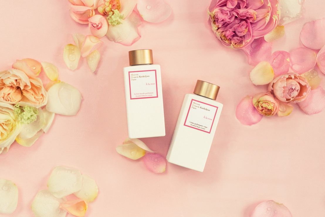 Maison Francis Kurdjian launches new body line 'A la rose'