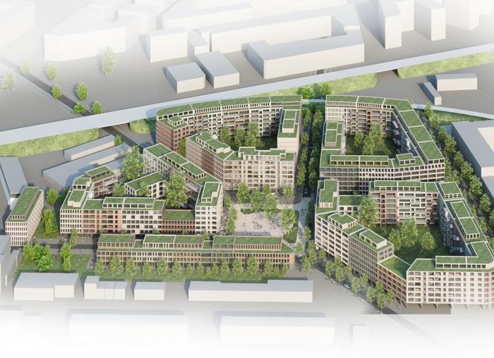 Le propriétaire de la Tour des Finances finalise la vente d'un des plus grands projets de logements d'Allemagne
