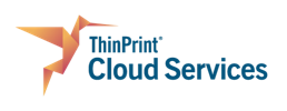 ThinPrint Cloud Services Pressebereich Logo