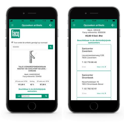 De FACQ PRO app ten dienste van de installateurs