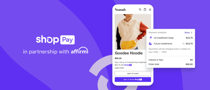 Shop Pay Installments launches in the U.S.