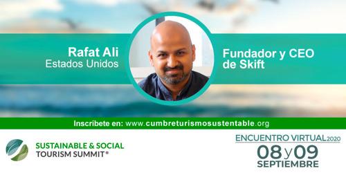 Sé parte del Encuentro Virtual 2020 Sustainable & Social Tourism Summit este 8 y 9 de septiembre