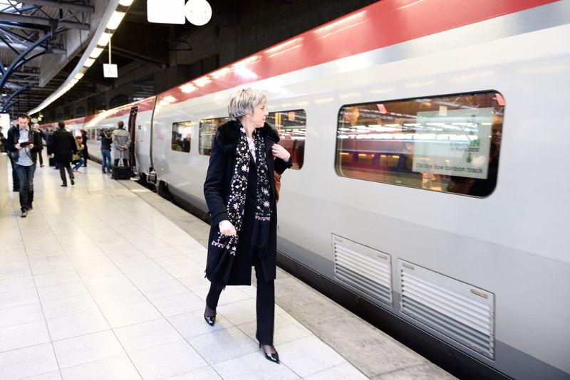 Agnès Ogier, CEO de Thalys