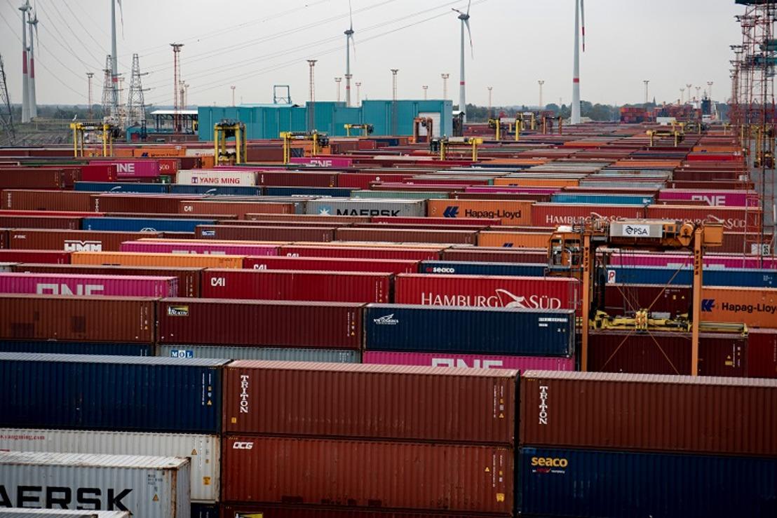 Extra Container Capacity Antwerp to receive European funding