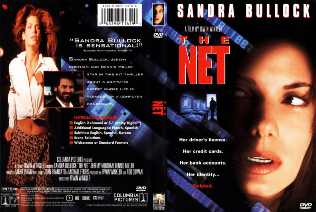 The Net verkozen tot beste cybersecurity-film ooit