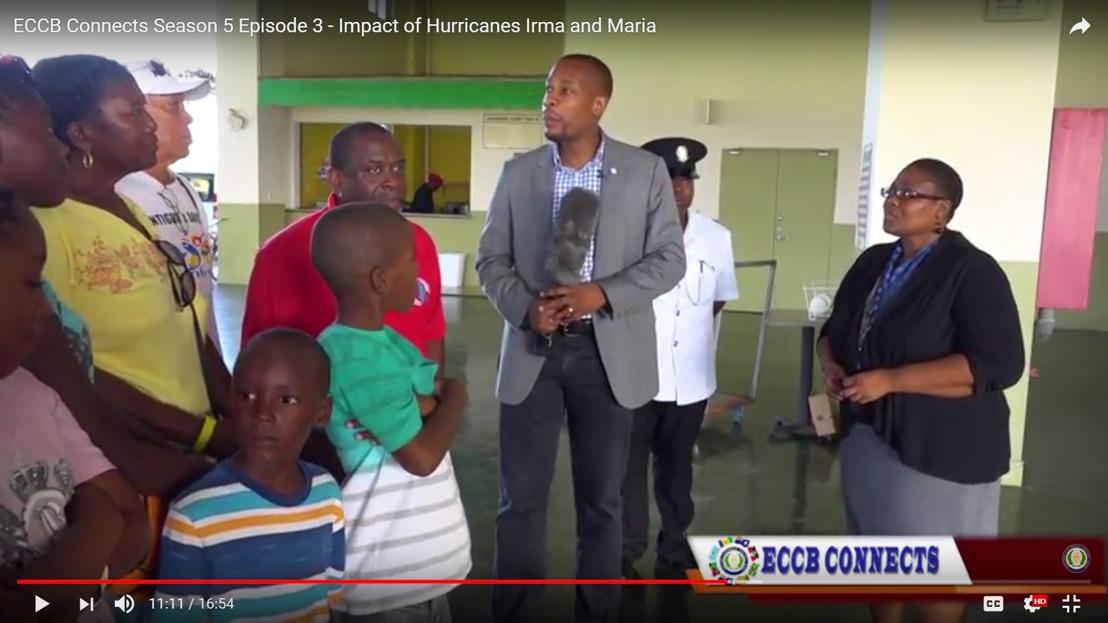 ECCB Connects: Impact of Hurricane Maria