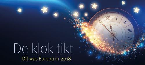 Europees ludiek jaaroverzicht met Europaprofessor Hendrik Vos en vrt-journalist Rob Heirbaut