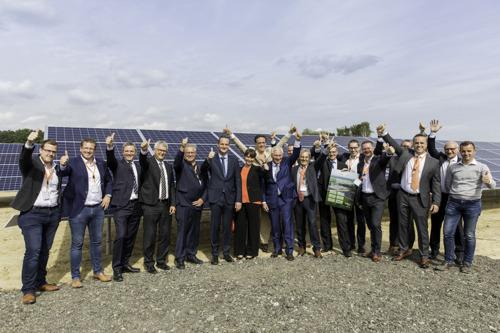 NMC und Luminus eröffnen die größte Solaranlage Der Deutschsprachigen Gemeinschaft