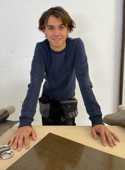 Yoni De Munter (22), oprichter ECO2boats