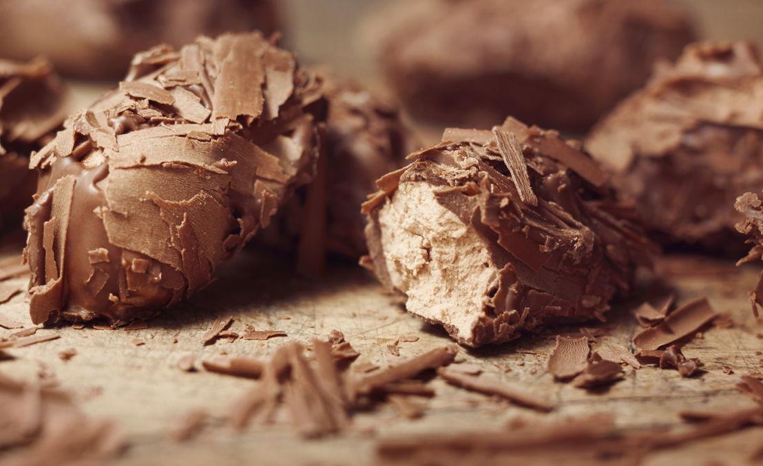Duc d'O Flaked Chocolate Truffles
