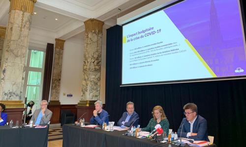 De Brusselse regering presenteert haar herstel- en herontwikkelingsplan voor de aanpak van de Covid-19 crisis