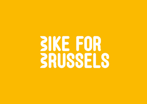 mortierbrigade roddelt met Bike for Brussels