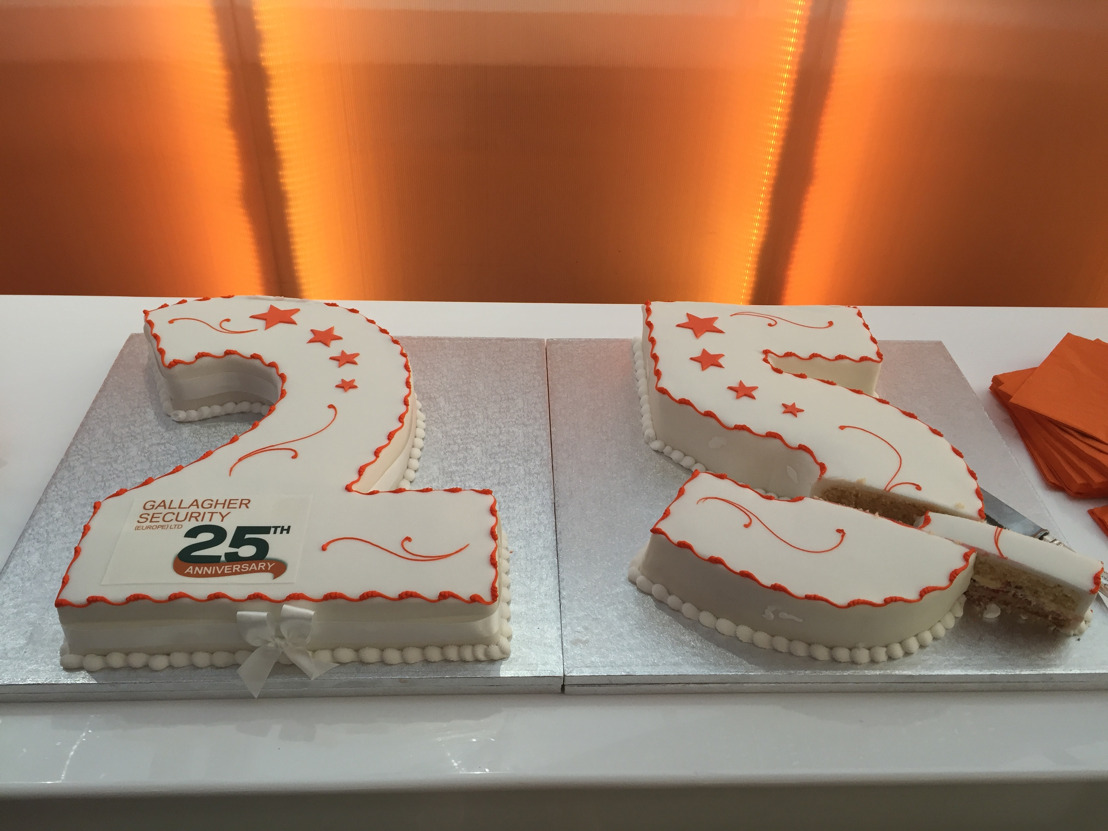 25 years is piece of cake for Gallagher Security Europe