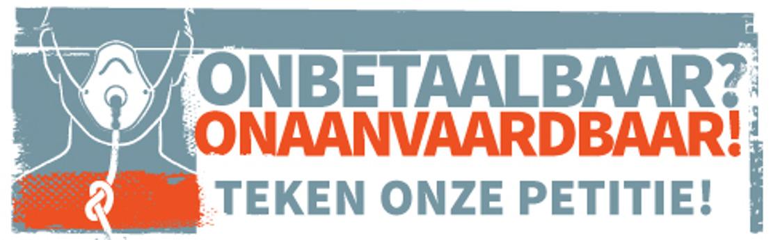 Media alert: Bijna 25.000 handtekeningen voor petitie Belgische Mucovereniging