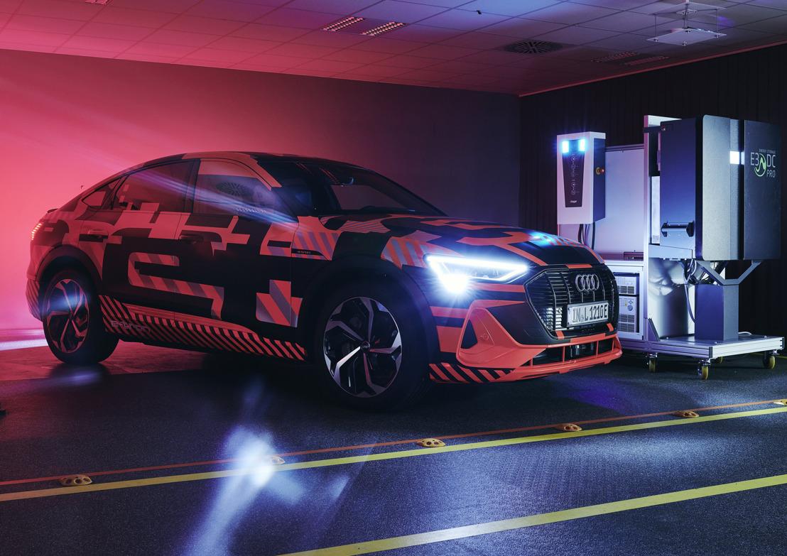 Elektrische auto's als onderdeel van de energietransitie: Audi onderzoekt tweerichtings laadtechnologie