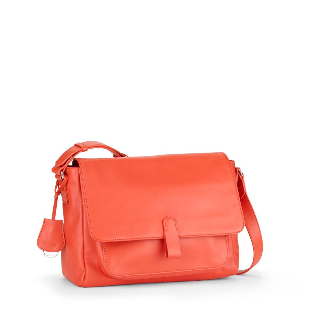 Maelisa Lea Orange in Leather