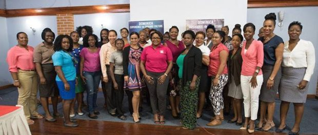 Participants at the Discover Dominica Authority's Destination Wedding and Honeymoon Seminar.