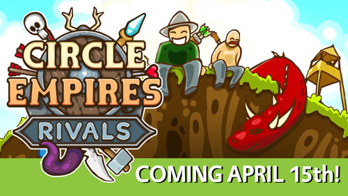 🏰🦑New Trailer and April 15 Release Date For Circle Empires Rivals! 🧙⚔️