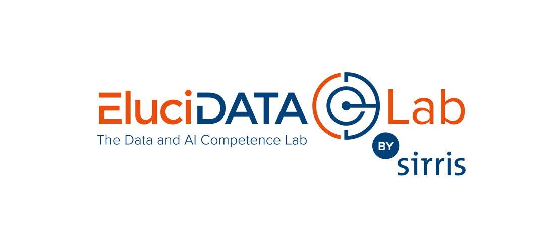Logo van het Data & AI Competence Lab van Sirris