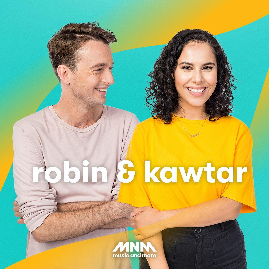 Kawtar en Robin presenteren deze zomer de Ochtendshow op MNM