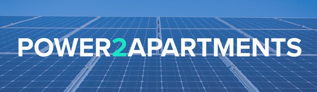 Brusselse start-up laat eigenaars van appartementen zonnepanelen delen