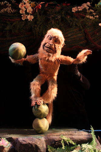 Preview: The rainforest comes alive at the Center for Puppetry Arts