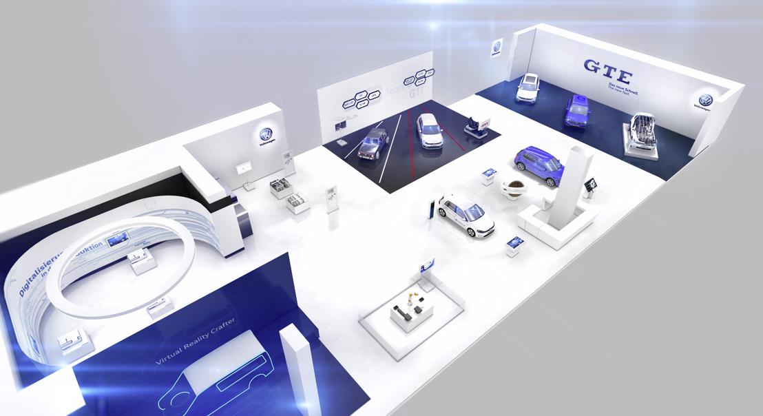 Hannover Messe 2016: Volkswagen à la pointe de la technologie avec la digitalisation et l'électromobilité