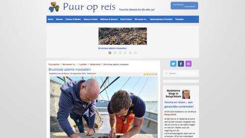 Reisblog Puur op Reis over Bruinisse