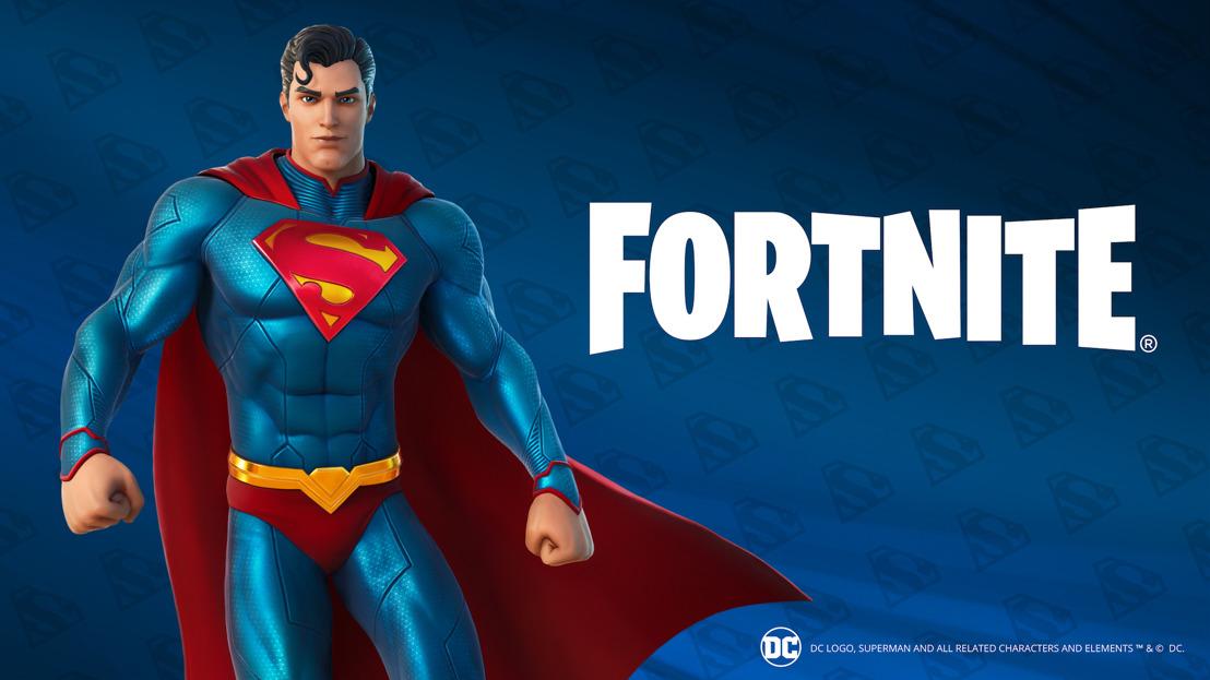 ¡Superman vuela a Fornite!