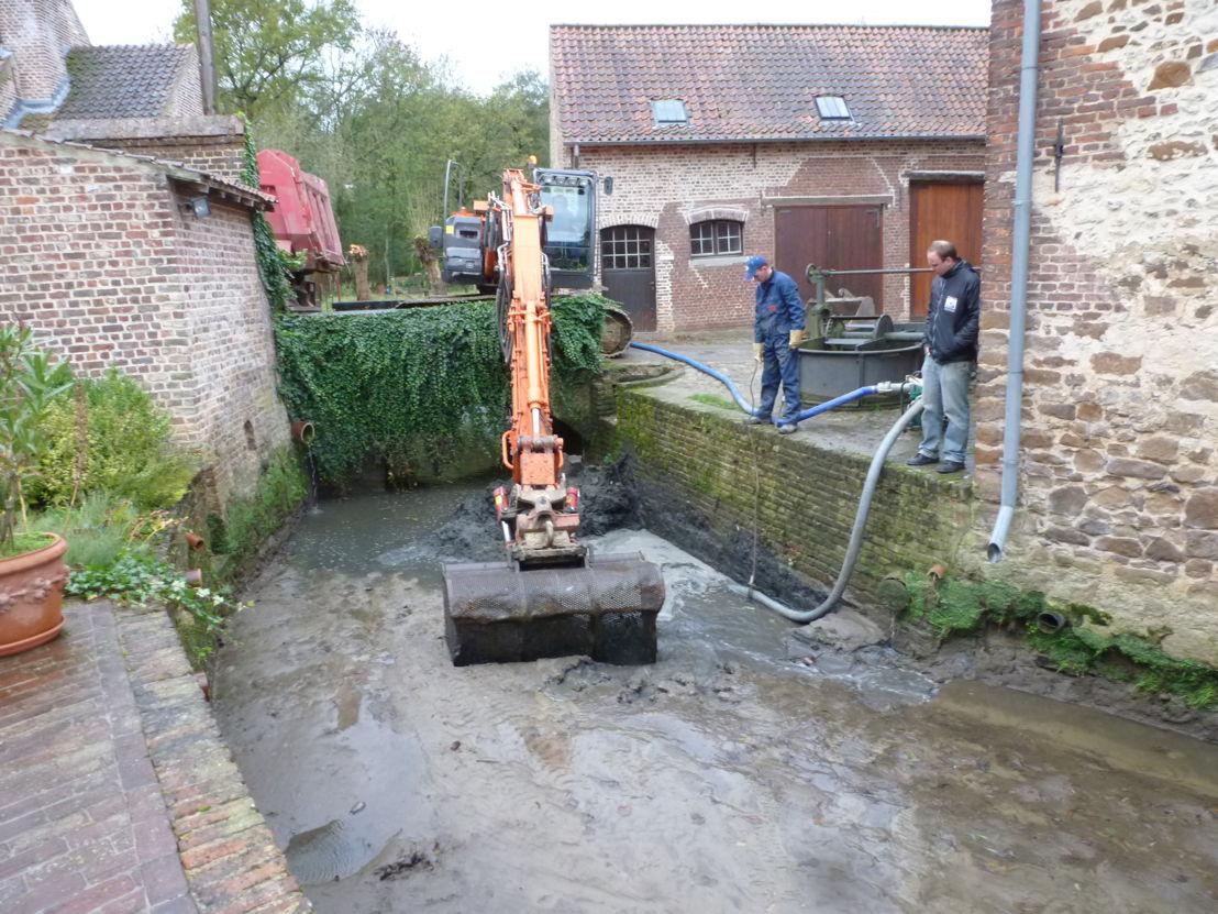 Molenbeek in Beersel thv de Herisemmolen