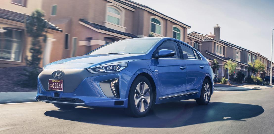 Hyundai Motor Company présente un nouveau concept de IONIQ autonome lors de l'événement Automobility Los Angeles