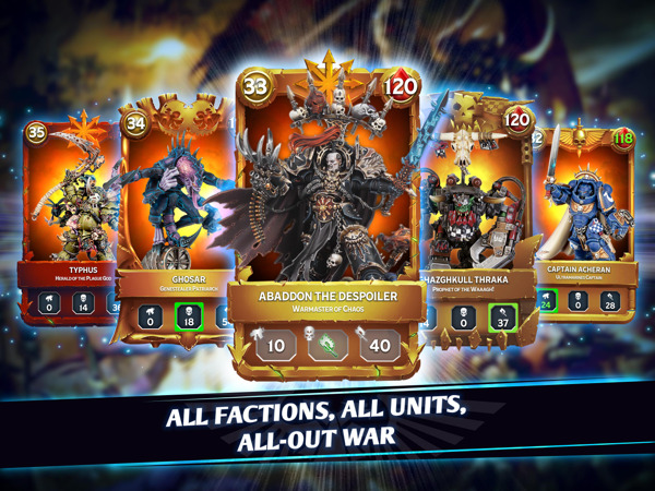 Preview: OUT NOW: Warhammer Combat Cards launches on the App Store and Google Play