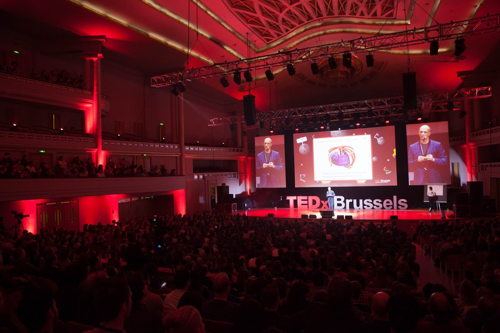 Preview: TEDxBrussels takes place on 5 march 2018, with 'A Brave New World' as a central theme