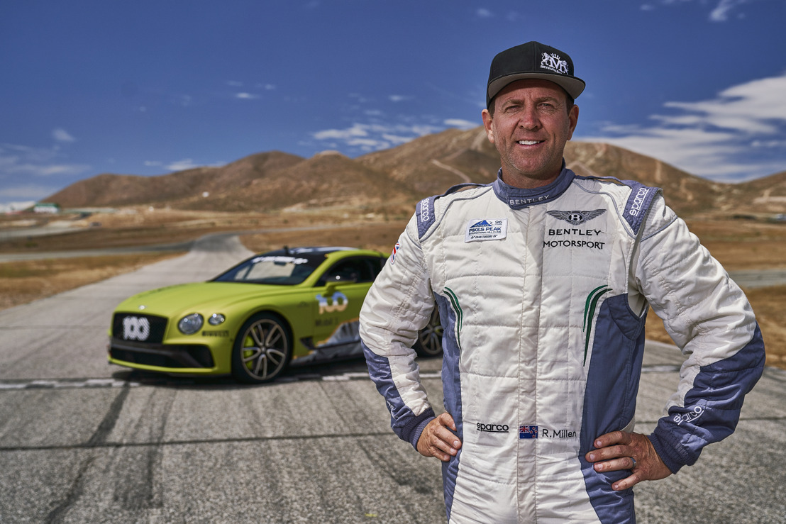 READY TO SUMMIT: BENTLEY CONTINENTAL GT SET FOR PIKES PEAK RECORD ATTEMPT