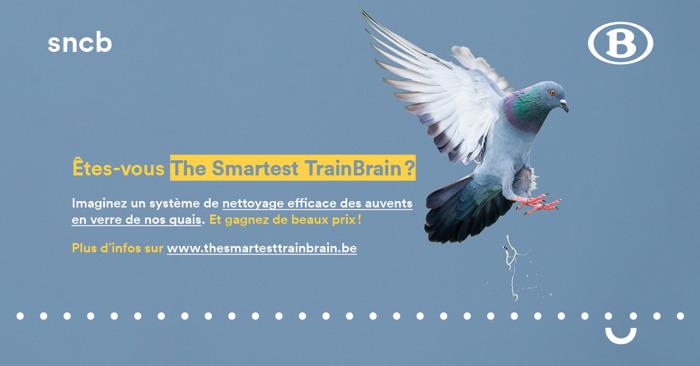 Communiqué de presse : HR Rail et la SNCB mettent au défi de jeunes ingénieurs avec The Smartest TrainBrain
